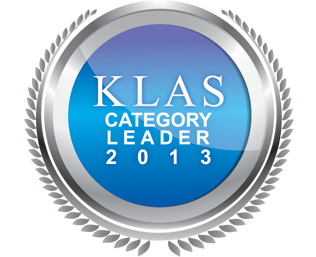 2013 Best in KLAS Report Emblem